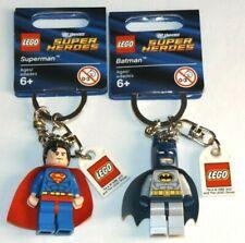 LEGO 853430 Superman 853429 Batman key chains DC Universe Super Heroes keychains