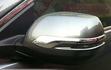 ABS Chrome Door Rearview Mirror Stripes Cover Trim For Honda CRV CR-V 2012-2017