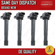 4 PENCIL IGNITION COIL SET FIT FOR HONDA CIVIC MK7 2.0 TYPE R,i SPORT 1999>2005