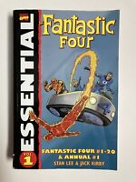 The Fantastic Four Essential Vol 1 By Stan Lee Jack Kirby! Marvel TPB -See Pics!