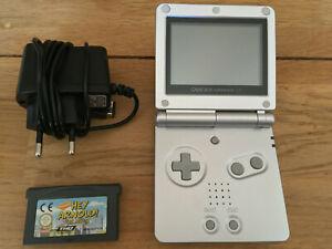 Console Game Boy Advance SP + jeu et chargeur - Nintendo Gameboy GBA SP