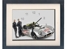 Peter Brock. High quality framed print and clock