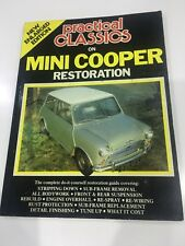 Practical Classics on MINI COOPER Restoration Complete Guide Brooklands Books