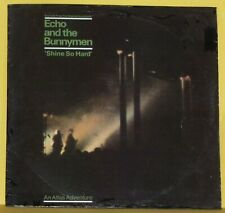"""Echo and the Bunnymen, """"Shine so hard"""" 12"""" Vinyl EP. Condition, EXC/NM sleeve G+"""