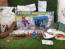Mattel Extreme Snowboard Kids Board / Skill Game Toy Vintage
