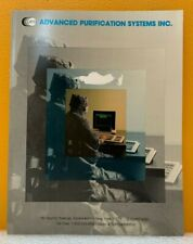 Advanced Purification Systems 86/87 Clean Room Equipment & Supplies Catalog.