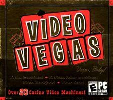 Video Vegas (PC-CD, 2003) for Windows 95/98/ME/XP - NEW in Jewel Case