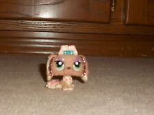 Littlest Pet Shop Dog Lhasa Apso Glitter Sparkle Shimmer #2155
