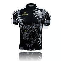 Dragon-tiger Cycling Bike Short Sleeve Top Shirt Clothing Bicycle Jersey S-3XL