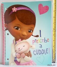 LTB: DOC MCSTUFFINS 3-HOLE COMPOSITION BINDER REFILL NOTEBOOK - Blue