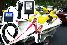 New Sea Doo WaveRunner Watercraft Jet Ski 12V Battery Maintainer Charger Tender