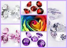 Diamanten Dekosteine 5 Stk groß Streudeko Hochzeit Tischdeko Steine Dekoration