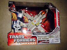 POWERGLIDE ULTRA CLASS Transformers Universe Classics Hasbro 2008 Generations G1