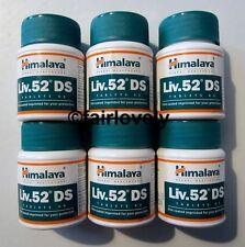 6 Jars x 60 Tablets Himalaya Liv.52 DS Liver 52 DS DOUBLE STRENGTH **UK SELLER**