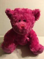 """Goffa Intl Pink Bear 12"""" Plush Stuffed Animal"""