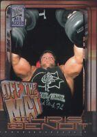Chris Benoit 2002 Fleer WWF All Access Card #56 WWE WCW New Japan Pro Wrestling