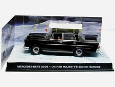 wonderful modelcar  Mercedes 220S 1967 - 007 - black  - scale  1/43