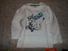 "NWT -Gymboree ""Hop n Roll"" long sleeved ""It's my Birthday"" dinosaur shirt-18-24m"