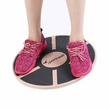 BAPS BOARD Wooden Balance Board Platform Ankle + Achilles Tendon Rehab ** NEW *