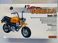 Aoshima 1:12 Scale Honda Z50 Hyper Gorilla Minibike Model Kit New - # 035245-800