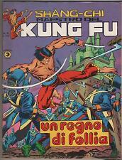 SHANG CHI corno N.18 UN REGNO DI FOLLIA shang-chi kung fu sons of the tiger