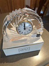 Mikasa Quartz Spiral Crescent Mantle Clock
