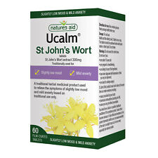 Natures Aid Ucalm 300mg (St John's Wort) - 60 Tablets. st john's wort.
