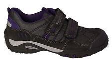 SUPERFIT Schuhe Halbschuhe Klettverschluss grau/lila Leder/Textil NEU