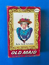 Vintage OLD MAID Card Game - Circus Themed - Whitman Publishing - Complete
