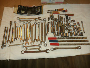 Misc. Lot Craftsman Sockets Wrenches Screwdrivers Tools