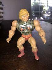 He-Man Battle Armor Action Figure MOTU Masters Of The Universe 1983 Mattel Vtg