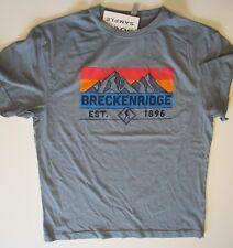 "Breck Breckenridge Colorado T-Shirt Unisex 40"" chest USA Printed New"
