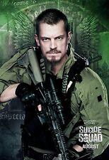 Suicide Squad Movie Poster (24x36) - Rick Flag, Joel Kinnaman, Harley Quinn v6