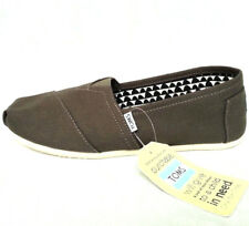 Toms Women's Classic Tarmac Olive Canvas Slip On Shoe Size 10 M NEW