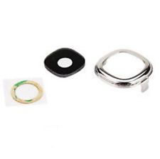 New Glass Camera Lens Cover Frame Part For Samsung Galaxy Note 2 N7100