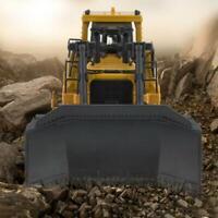 HUINA 1700 1:50 Metal RC Construction Bulldozer Car Engineering Vehicle Toy