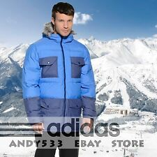 Warm Winter Jacket Men Performance™ Fur North Parka Face Hooded Alaska Adidas XL