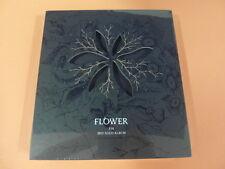 XIA JUNSU (JYJ) - Flower CD w/ Booklet + Photo Card + Unfold POSTER K-POP