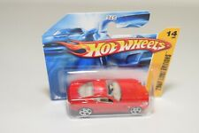 V 1:64 311 HOTWHEELS FERRARI 599GTB 599 GTB RED MINT BOXED ON SHORT CARD