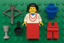 Lego Queen Princess Castle Minifig Lot: vintage figure: woman girl lady maiden
