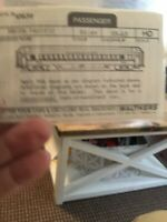 HO Walthers Decals 93-63 Union Pacific Silver Passenger Car New