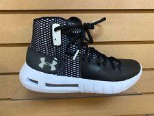 UnderArmour Hovr Havoc Mens Basketball Shoe (3020617)-Black/ white-Brand new