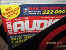 Audio Hifi Magazin Zeitschrift ,kompletter Jahrgang 2005 Heft 1-12