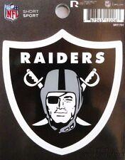 "Rico NFL Oakland Raiders 3"" x 3"" Die-Cut Decal Window, Car or Laptop new"