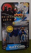 KENNER Las Aventuras De Batman Y Robin Duo viento Blitz Batgirl figura de acción