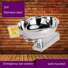 Stainless Steel Emergency Eye Wash Station Eye Washer First Aid Tool
