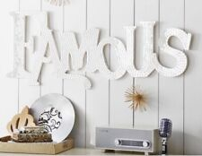 Pottery Barn Teen Famous Mirrored Sign