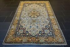 Fein Handgeknüpfter Perser Orientteppich Kaschmir Paki Nain Carpet Rug 225x140cm