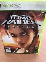 Lara Croft Tomb Raider Legend Game Xbox 360