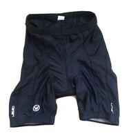 Canari Cycling Shorts Adult Size M Fitted Black Padded Nylon Lycra Sports Tights
